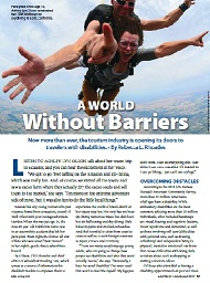 A World Without Barriers