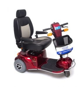 3-Wheeled Bariatric Scooter Rented by Special Needs Group
