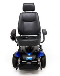 Standard Powerchair with Joystick Control Rented by Special Needs Group