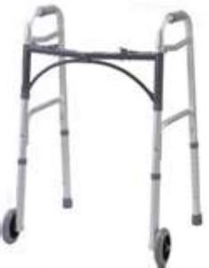 Standard Walker with 2 Front Wheels Rented by Special Needs Group