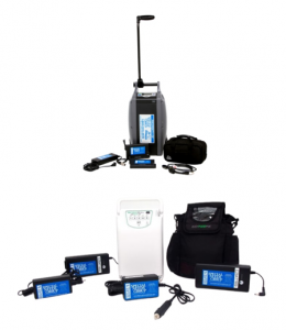 Portable Oxygen Concentrators - Oxlife Independence and Easy Pulse 5 Rented by Special Needs Group