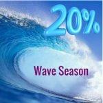 Ocean Wave Promoting 20% Promotion for Travel Advisors