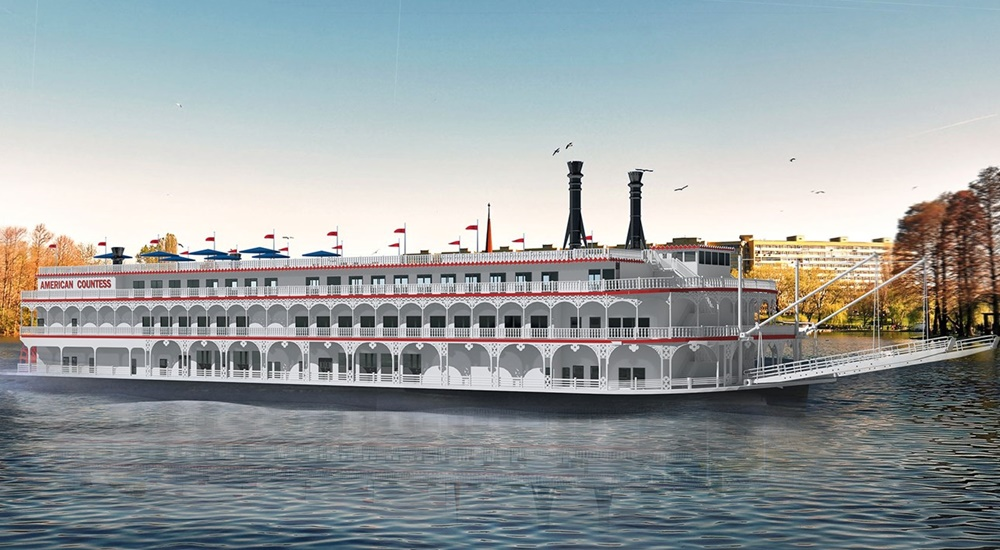 American Queen® Steamboat Company's American Countess Riverboat