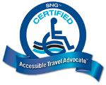 Special Needs Group Certified Accessible Travel Advocate Logo